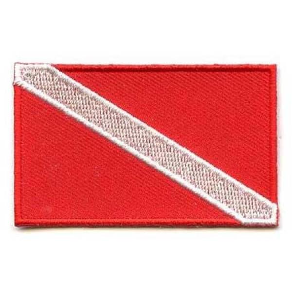 Našitek zastava Potapljači
