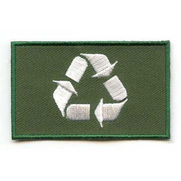 Našitek zastava Recycle