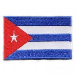 Našitek zastava Kuba