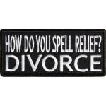 Našitek Relief - divorce