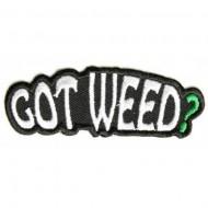 Našitek Got weed?