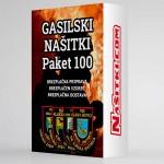Gasilski našitki - paket 100