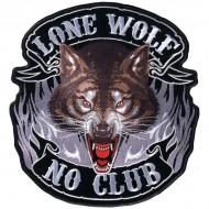 Našitek Lone Wolf Ice