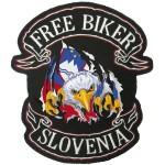 Našitek Orel Slovenska zastava