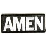 Našitek Amen