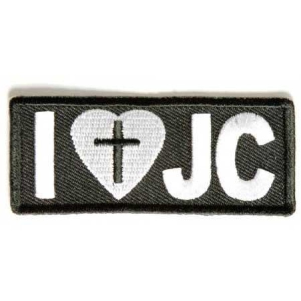 Našitek I love JC