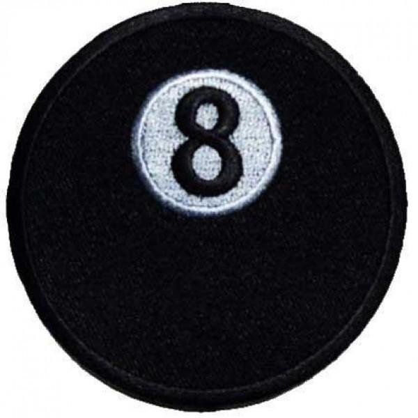 Našitek 8 ball