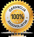 100% Garancija zadovoljstva